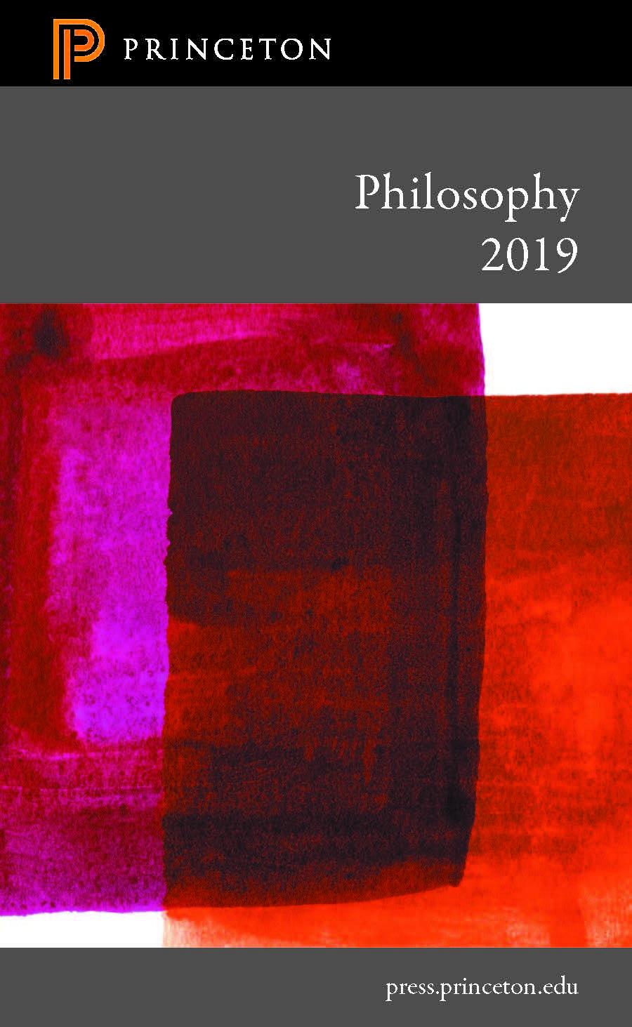 Philosophy 2019 Catalog