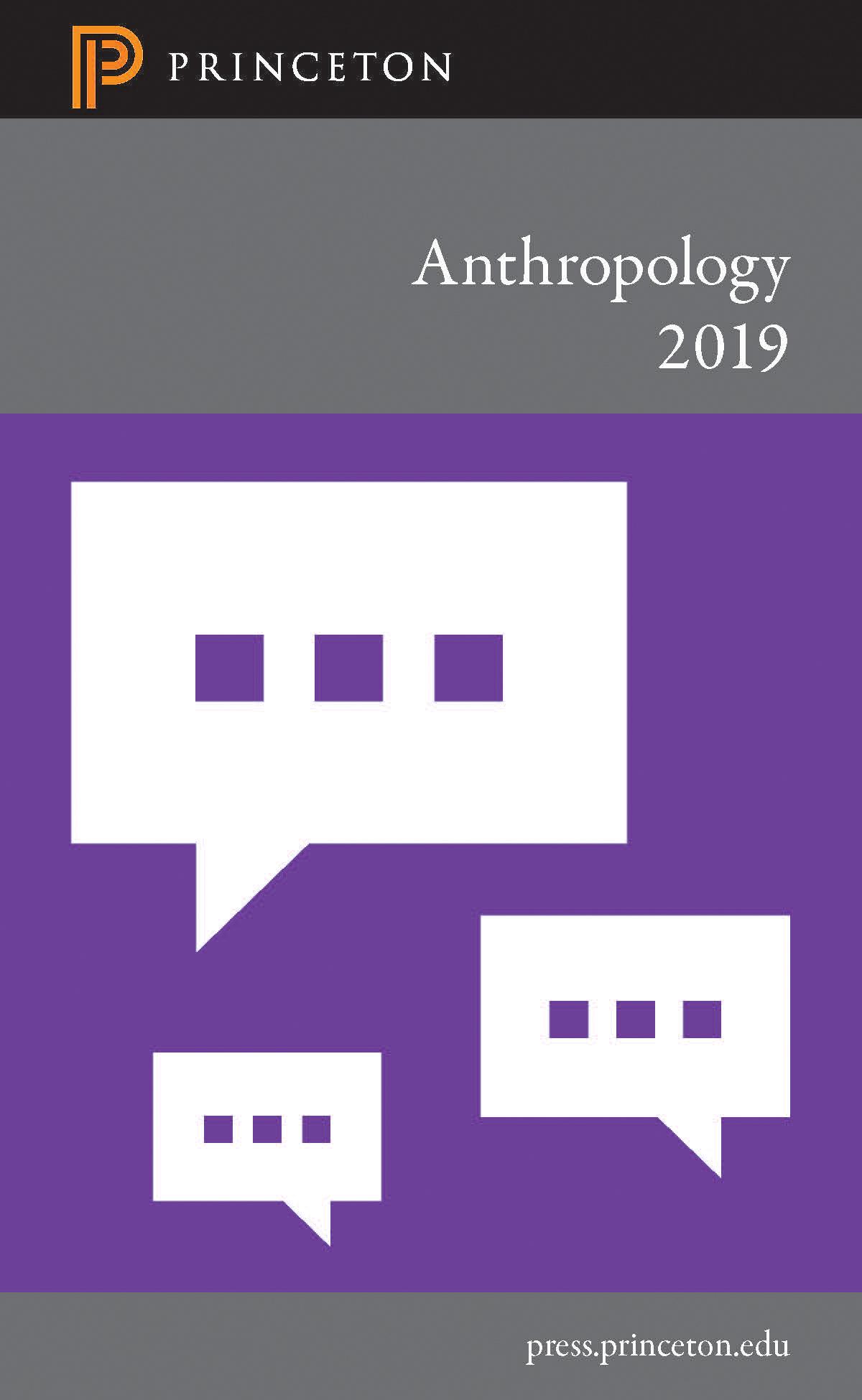 Anthropology 2019 Catalog