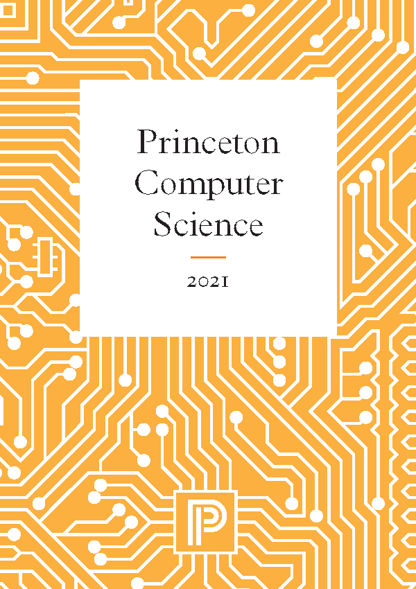 Computer Science 21 Catalog Cover