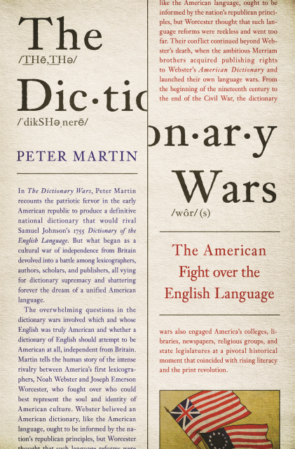 Peter Martin on The Dictionary Wars