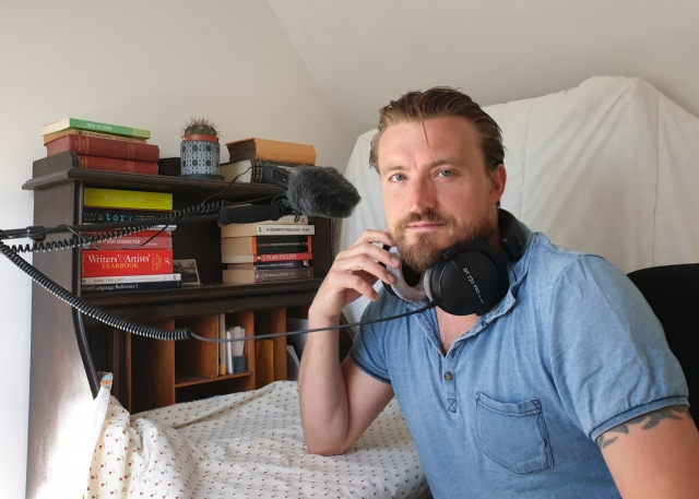 Recording audiobooks under lockdown