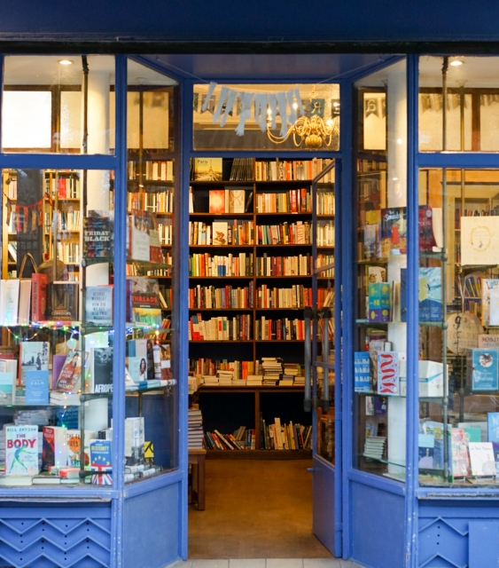Gratitude for the bookselling community