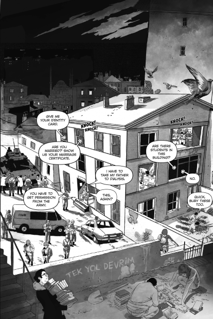 Jenny White on the graphic novel and the complicated roots of political violence