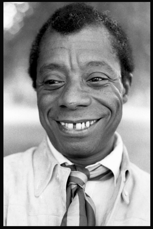 James Baldwin border