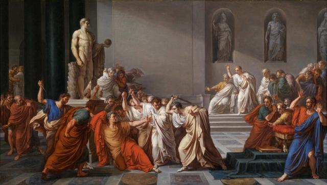Vincenzo Camuccini La morte di Cesare