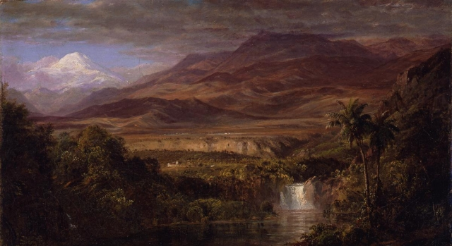 """Frederic Edwin Church, Study for """"The Heart of the Andes"""""""