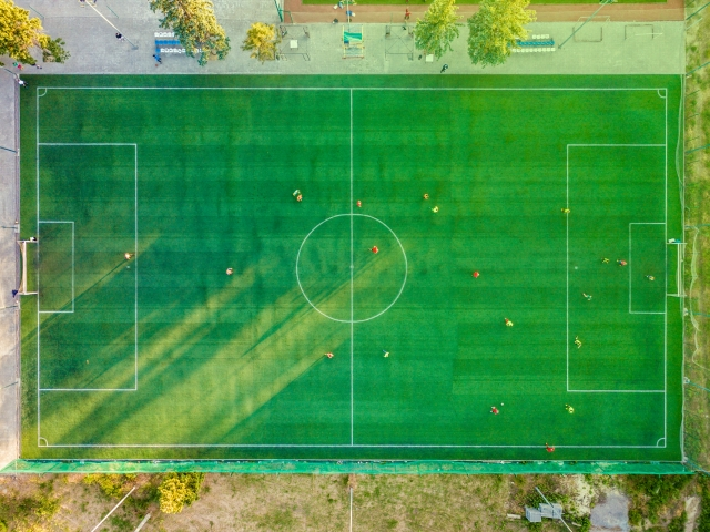 Photo of a playing field