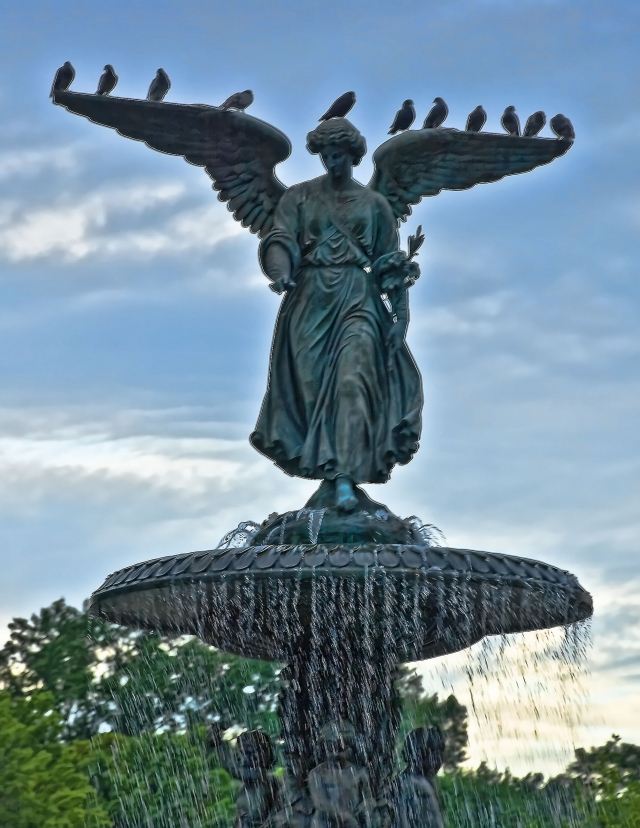 By Francisco Diez from New Jersey, USA - Angel of the Waters, Central Park, CC BY 2.0