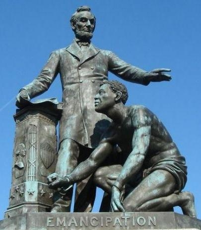 Photo of emancipation memorial