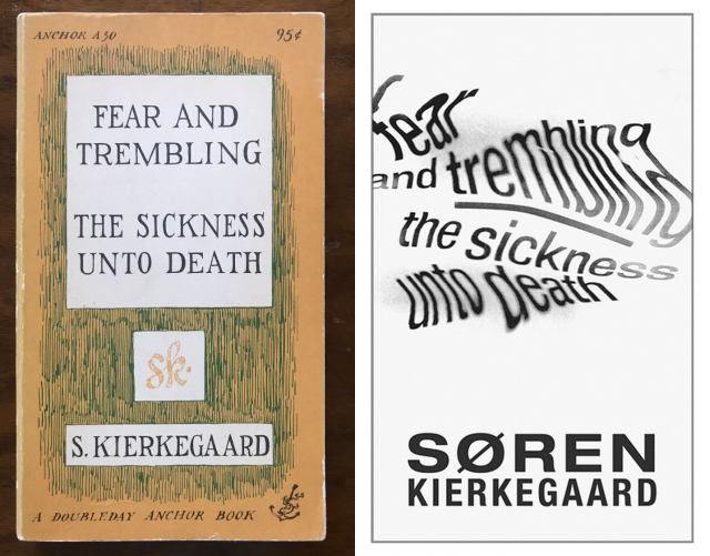 Fear and Trembling paperbacks