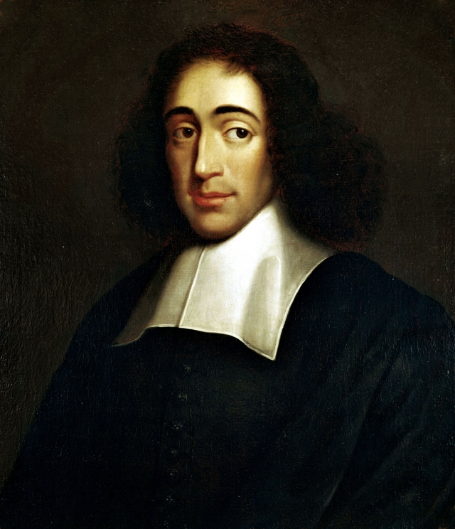 Painting of Spinoza