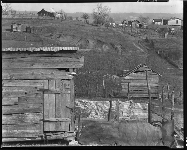 Negroes' Houses, Outskirts Tupelo, Mississippi