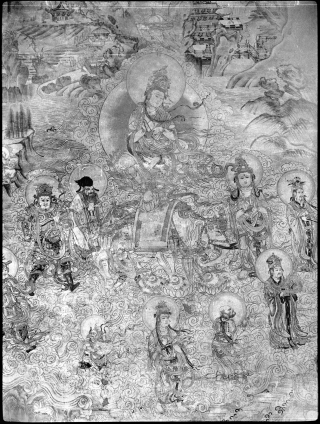 Yulin Cave Western Xia Samantabhadra and assembly