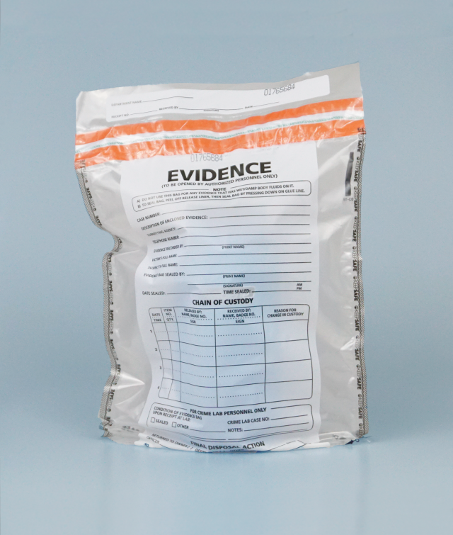 Forensic evidence bag