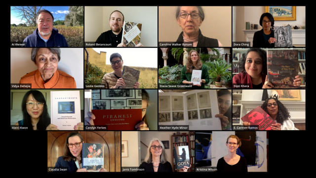 Authors on Zoom frame
