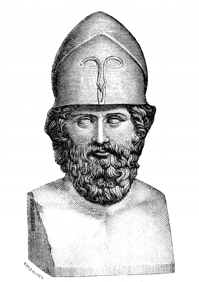 Illustration of Themistocles