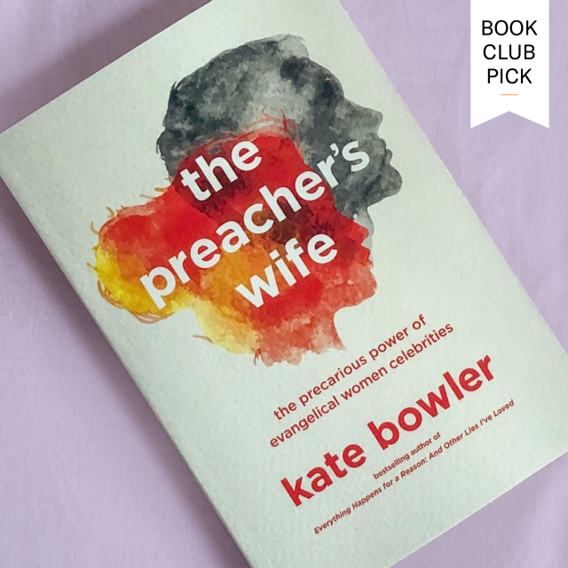 cover for The Preacher's Wife, a Book Club Pick