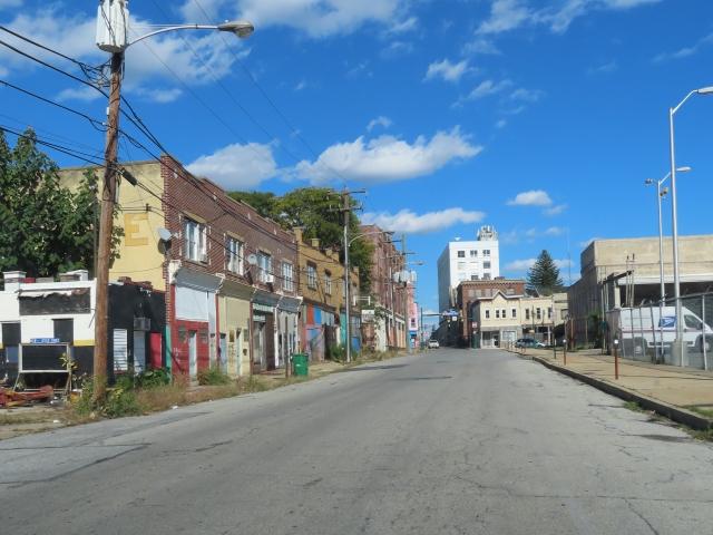 Street in Chester, Pennsylvania