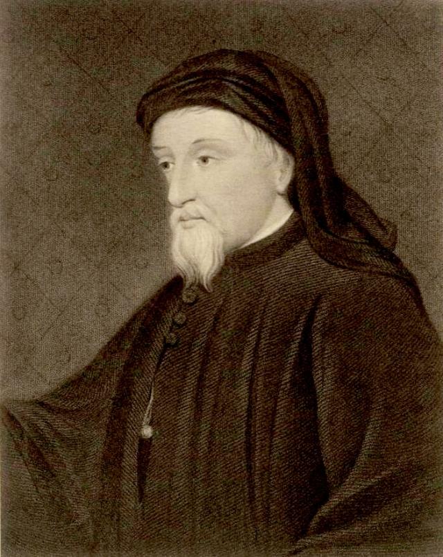 portrait of Geoffrey Chaucer