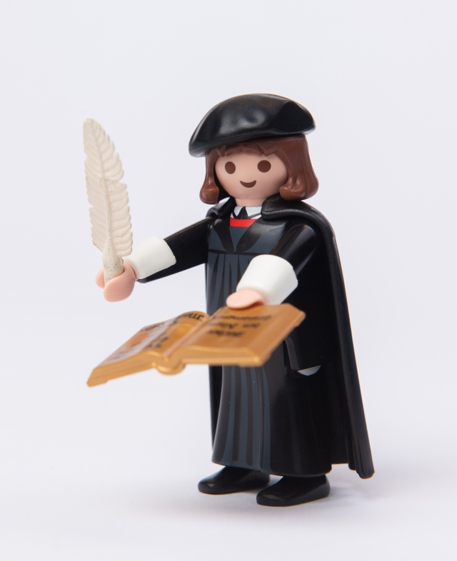 Martin Luther Playmobil figure