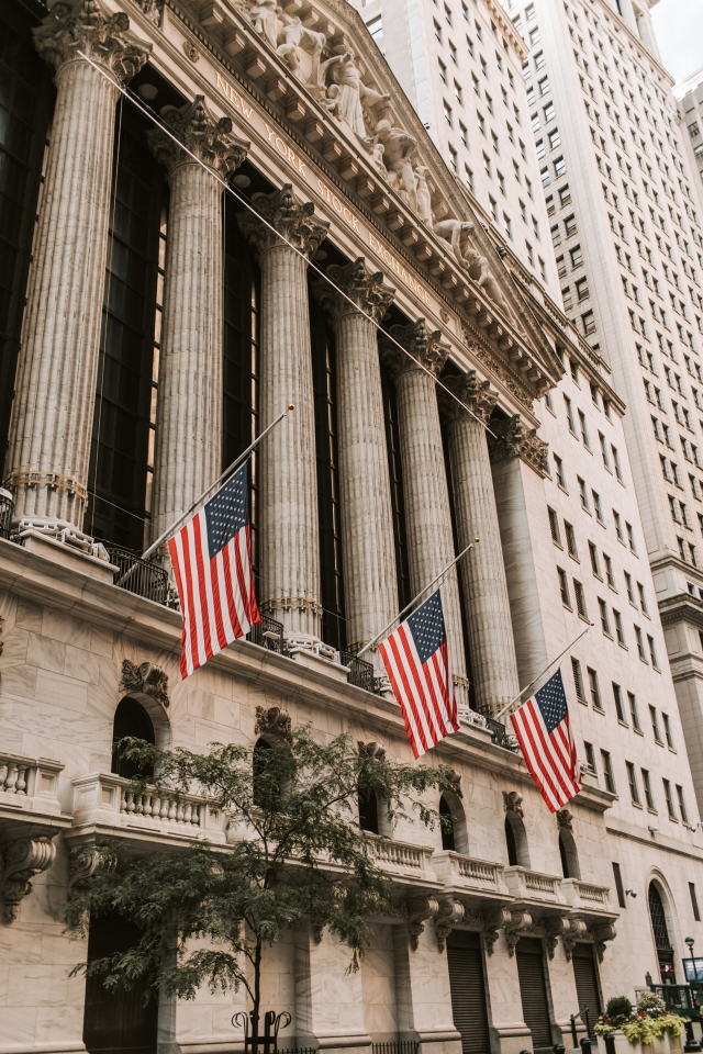 Ediface of New York Stock Exchange