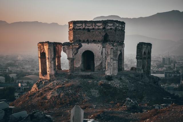 Image of ruins in Kabul