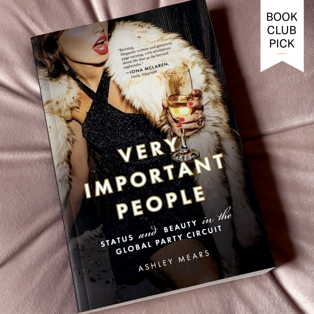Very Important People book cover - Book Club Pick