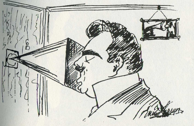 Caruso gramophone cartoon