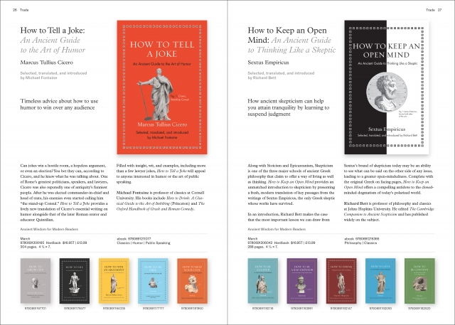 Ancient Wisdom for Modern Readers series spread