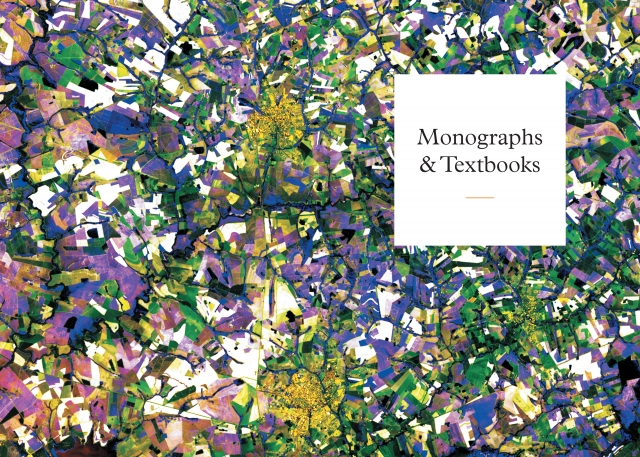 Monographs and Textbooks section divider spread