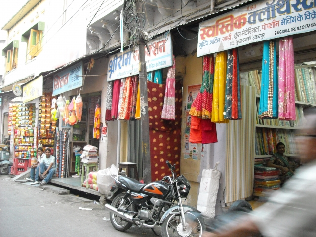 Bazaar in Udaipur's old city